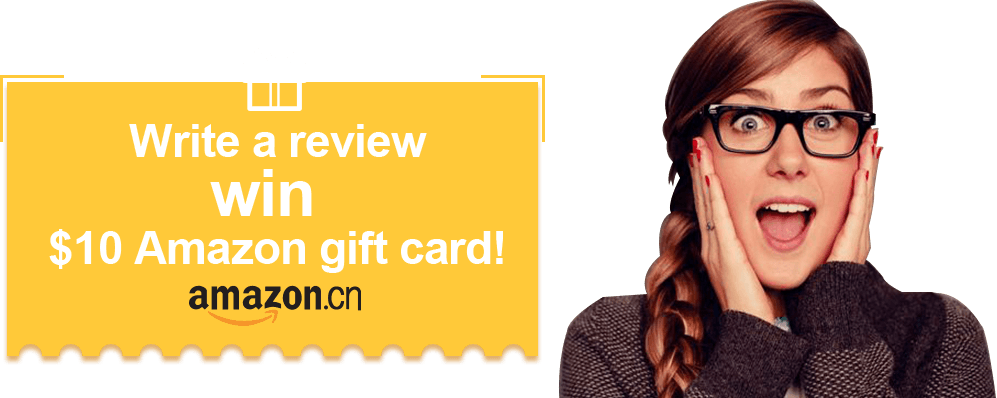 Write a review -- win $10 Amazon gift card!