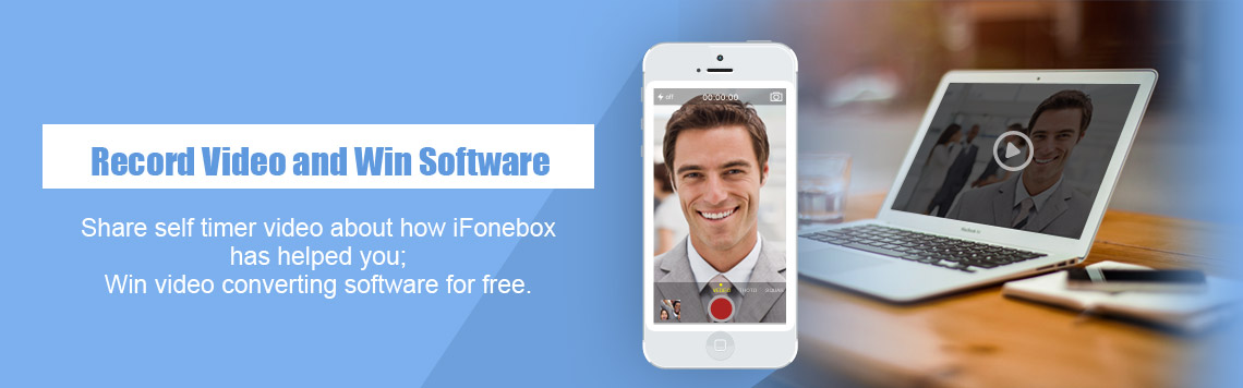 Post a video review about iFonebox to win free video converting software!