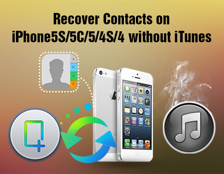 Recover Contacts on iPhone5Swithout iTunes