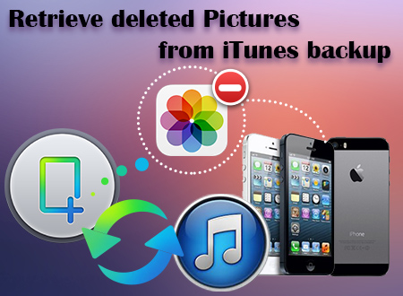 Retrieve deleted Pictures from iTunes backup