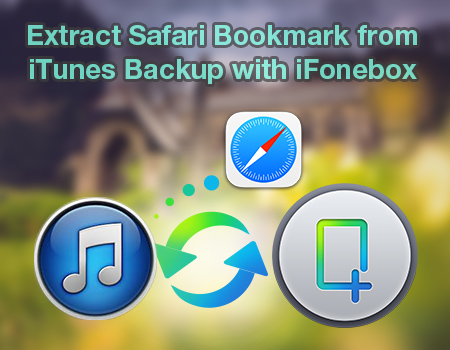 Extract Safari Bookmark from iTunes Backup with iFonebox