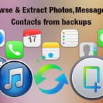 Browse & Extract photos,messages,contacts from backup with iFonebox