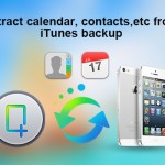 Save work-related profiles like calendar, contacts, etc on iPhone