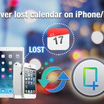 Two ways to recover lost calendar from iPhone/iPad