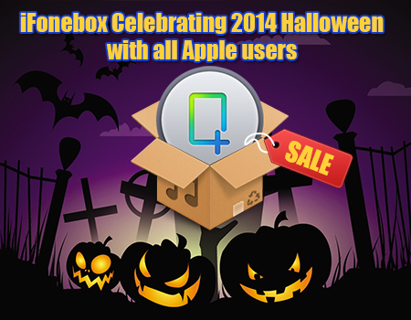 iFonebox Celebrating 2014 Halloween with all Apple users2