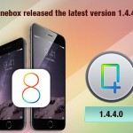 iFonebox updated to 1.4.4.0 which fully compatible with iOS 8 and iPhone 6/6 Plus