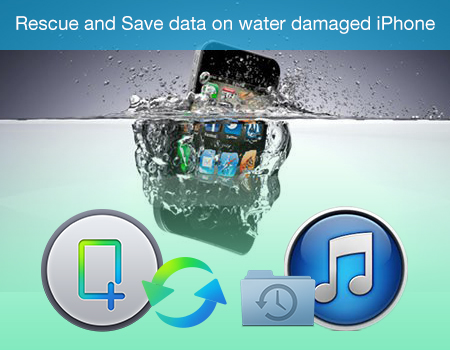 Rescue and Save data on water damaged iPhone