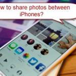 How to share photos between iOS device