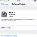 Things to do before you install the iOS 8.3?