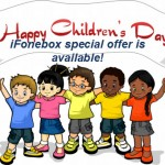 iFonebox special offer for children's day is available!