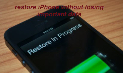 restore_iPhone_without_losing_data