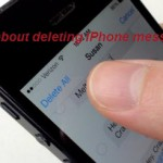 Tips about deleting iPhone messages permanently