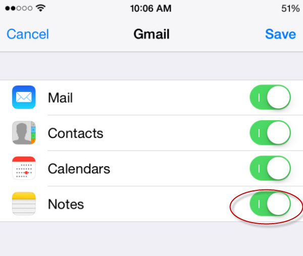 iphone-gmail-mail-sync-notes