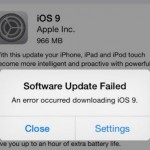 iOS 9 update failed? Here are the fixing solutions for different error messages.