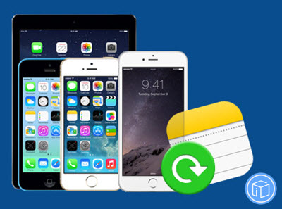 how to add notes back to iphone